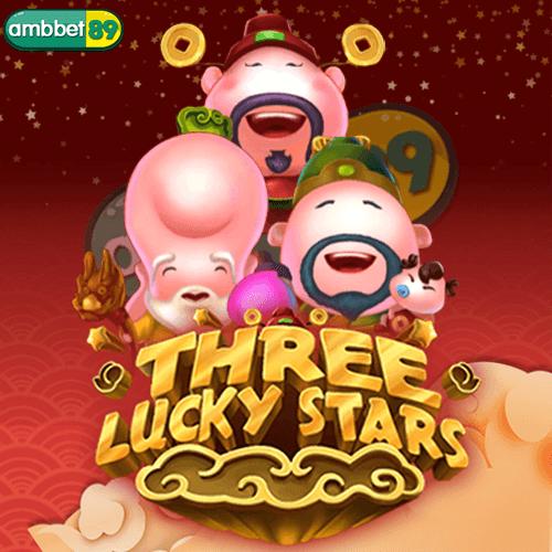 THREE LUCKY STARS สล็อต