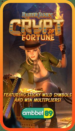 ทดลองเล่นสล็อต Raider Jane's Crypt of fortune