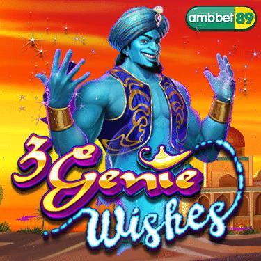 ทดลองเล่นสล็อต 3 Genie Wishes
