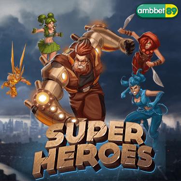 ทดลองเล่นสล็อต Super Heroes